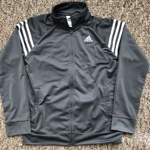 Adidas zip up athletic sweater